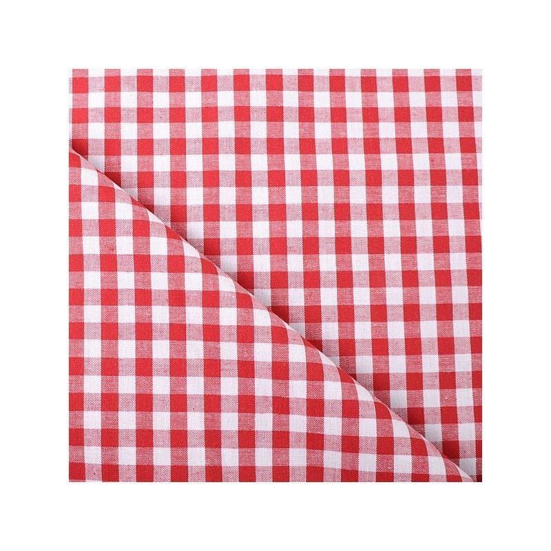 Tissu Vichy Rouge 5