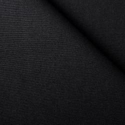 Tissu Coton Diabolo Noir 326
