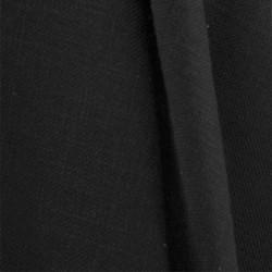 Tissu Aspect Lin Noir 19