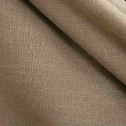 Tissu Aspect Lin Gris Taupe 28