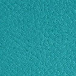 Simili Cuir Effet Grainé Bleu Turquoise 405