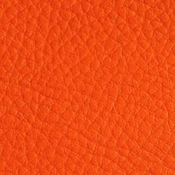 Simili Cuir Effet Grainé Orange 253