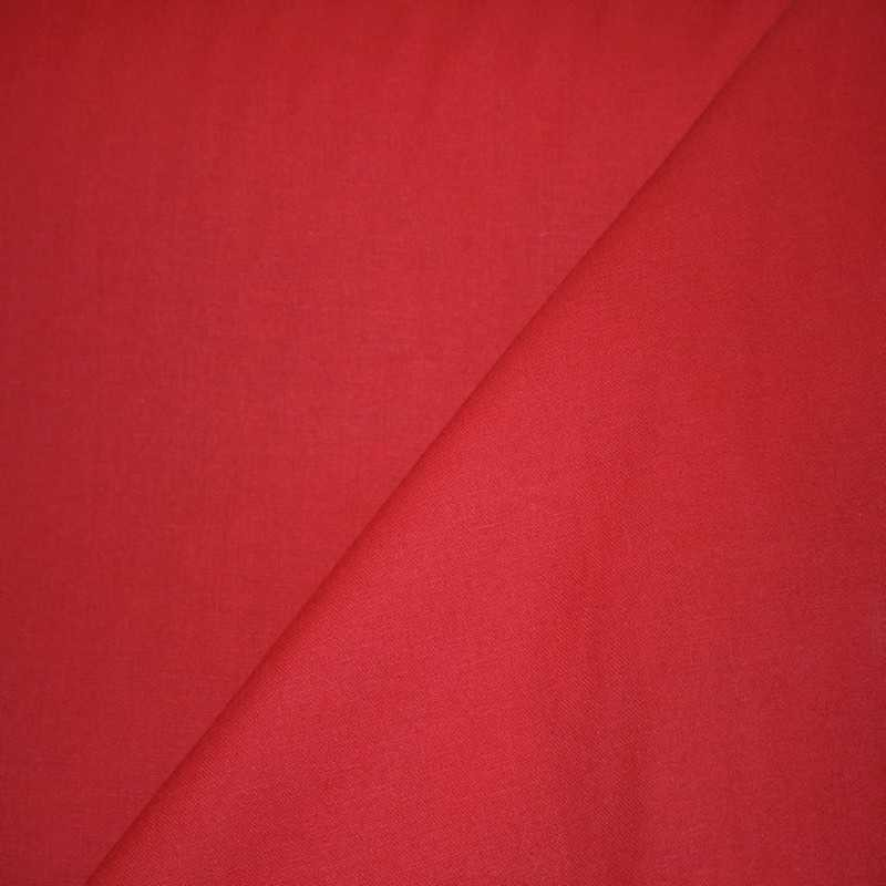 Tissu Coton Jekyll Rouge Vermillon 212