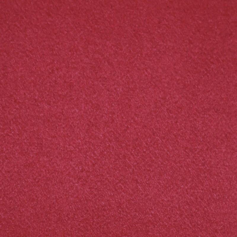 Suédine Eternité effet Alcantara Rouge Cardinal