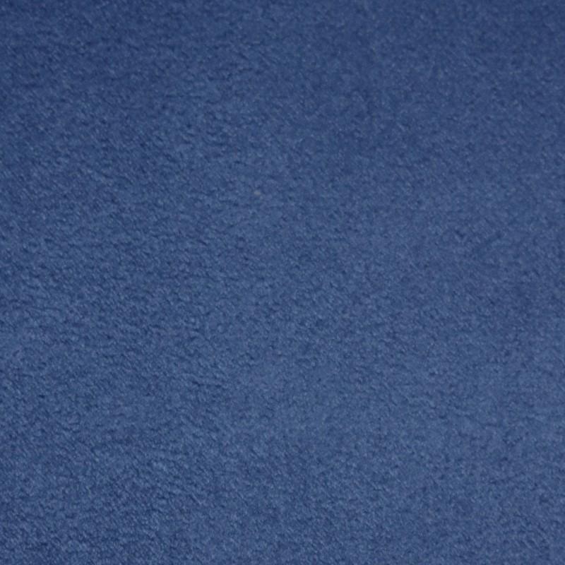 Suédine Eternité effet Alcantara Bleu Roi