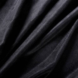 Suédine souple Noir
