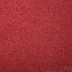 Suédine souple Rouge