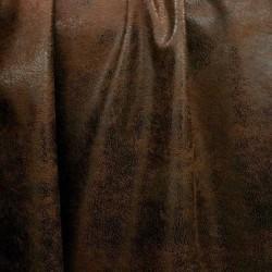 Simili cuir effet vieilli SAFARI Chocolat
