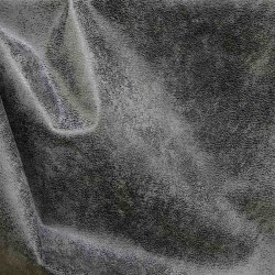 Simili cuir effet vieilli SAFARI Gris Acier
