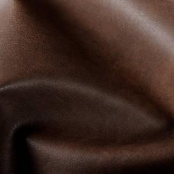 Tissu simili cuir de grande qualité couleur Brun