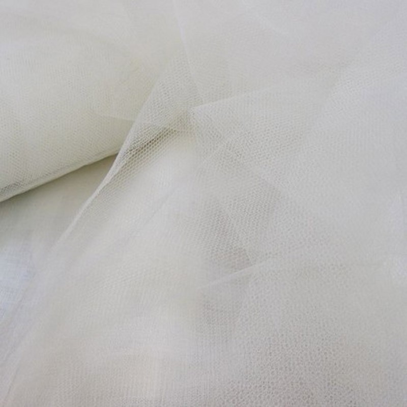 Tulle rouleau 40m - Blanc