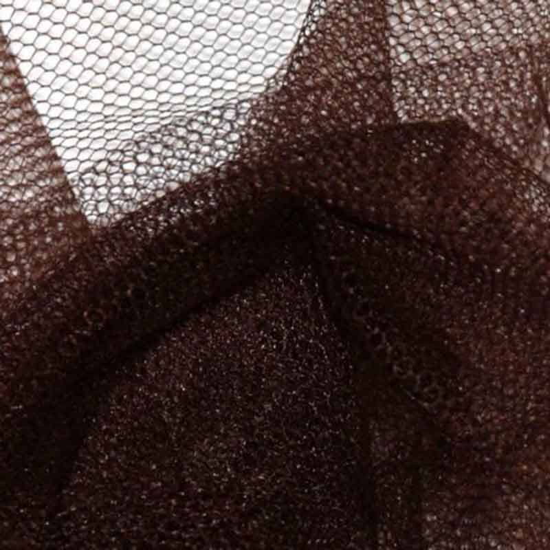 Tulle rouleau 40m - Chocolat