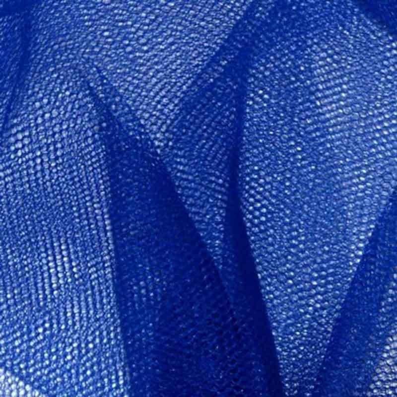 Tulle rouleau 40m - Bleu Electrique