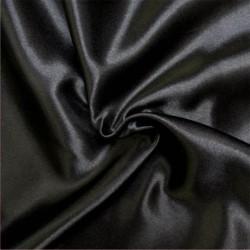 Satin Deluxe pour doublure couleur Noir