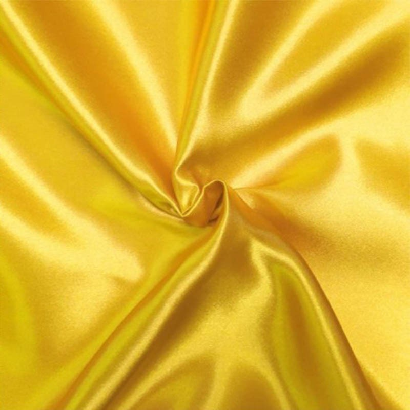 Satin Deluxe pour doublure couleur Jaune Or
