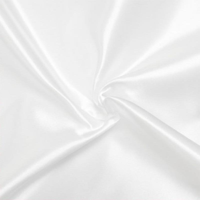 Satin Deluxe pour doublure couleur Blanc