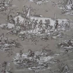 Toile de Jouy Histoire D'eau Lin