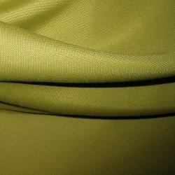 Tissus Ignifugé Double Natte Vert Anis