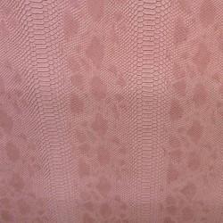 Tissus Simili Cuir Komodo Rose