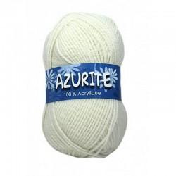 Fil à tricoter Laine Azurite Blanc Cassé 1300-0211