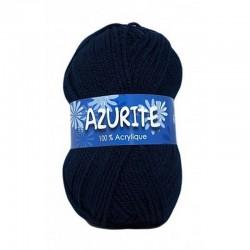 Fil à tricoter Laine Azurite Bleu Marine 1300-3090