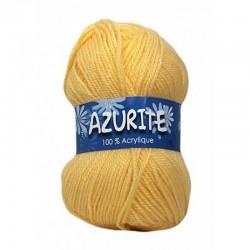 Fil à tricoter Laine Azurite Jaune 1300-0030