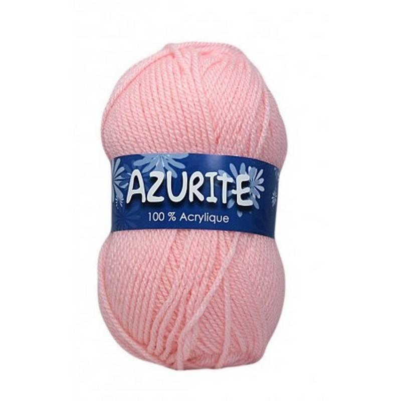 Fil à tricoter Laine Azurite Rose Clair 1300-3011