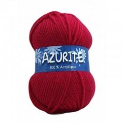 Laine Azurite Rouge Coquelicot