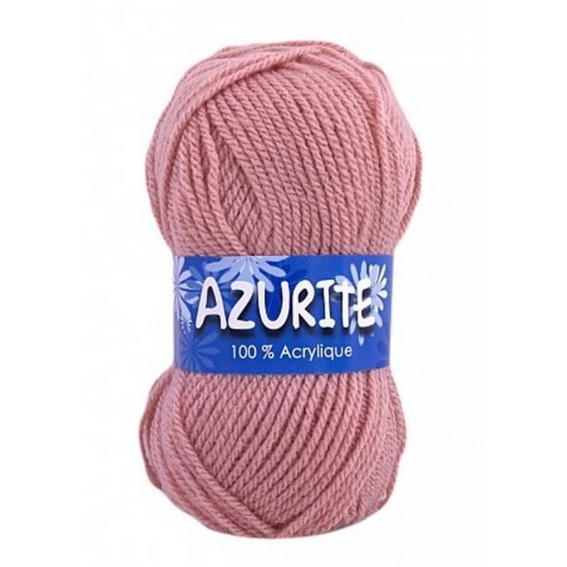 Fil à tricoter Laine Azurite Vieux Rose 1300-1979