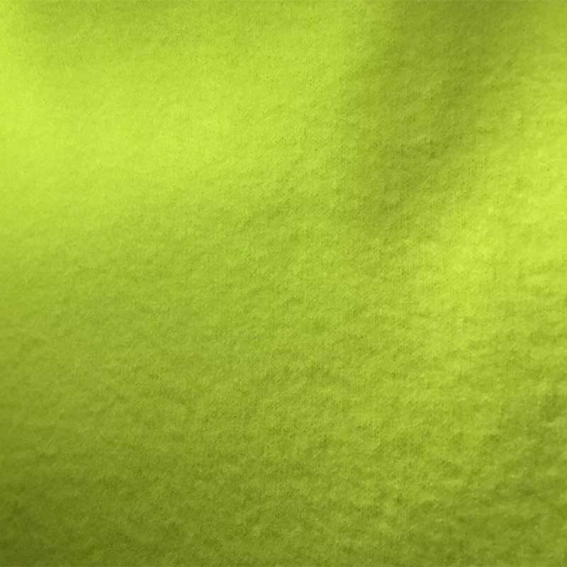 Tissu Polaire Vert Anis 100% Polyester