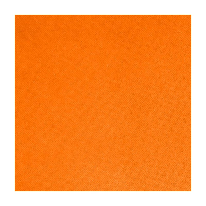 Intissé / Non-tissé aspect tissus Orange