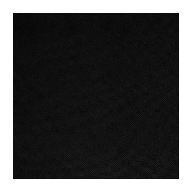 Intissé / Non-tissé aspect tissus Noir
