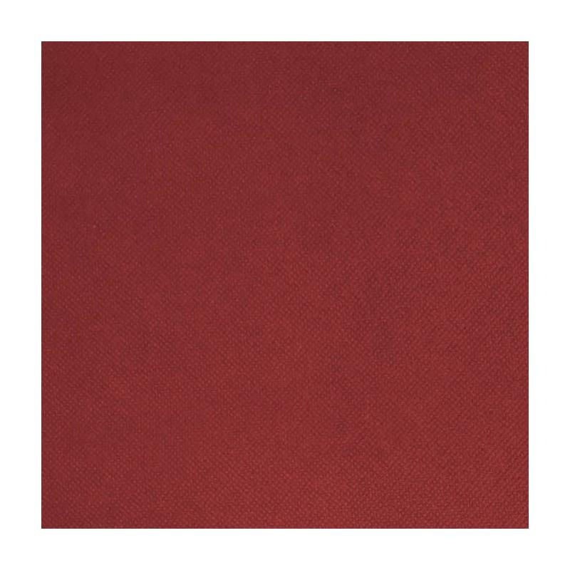 Intissé / Non-tissé aspect tissus Bordeaux
