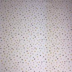 Coton Imprimé Pois Multicolore