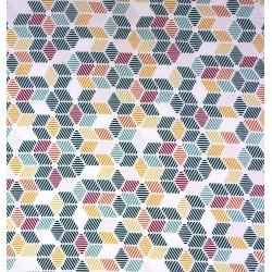Coton Imprimé Géométrique