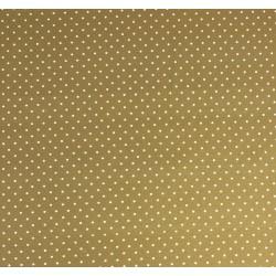 Coton Imprimé Pois Moutarde