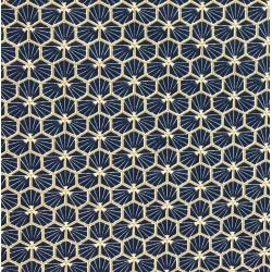 Coton Imprimé Riad Marine