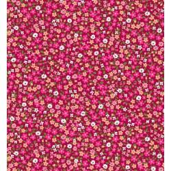 Coton Imprimé Victoria Fraise