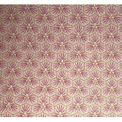 Coton Imprimé Riad Rose
