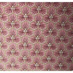 Coton Imprimé Riad Corail