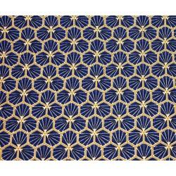 Coton Imprimé Riad Indigo