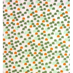Coton Imprimé Emmet Vert