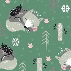 Doudou Loup/Flocons