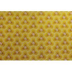 Coton Imprimé Riad Jaune