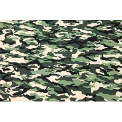 Coton Imprimé Camouflage