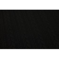 Maille Tressée Noir