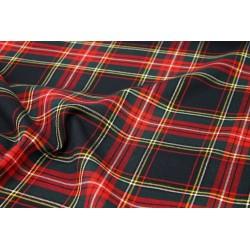 Tissu Écossais - Marine