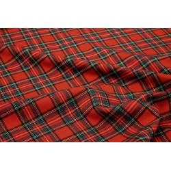 Tissu Écossais - Rouge