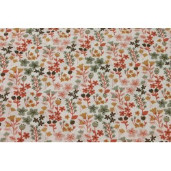 Tissu Matelassé - Floral Rose