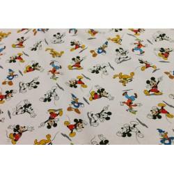 Coton Imprimé Mickey